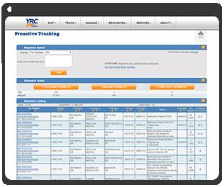 my-yrc-tracking-tool