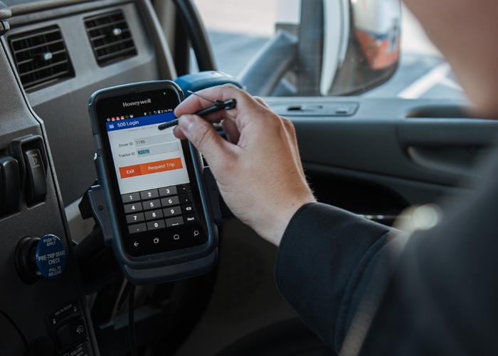 YRC Freight add in-cab technology