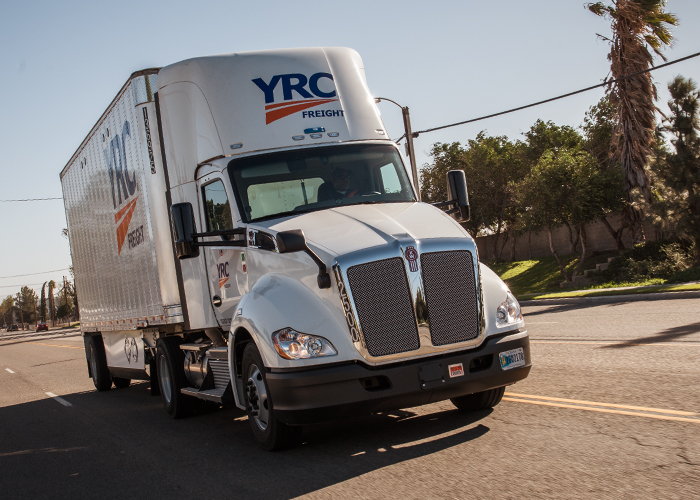 YRC Freight adds 1200 new tractors